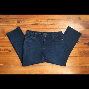 Ann Taylor Cropped Jeans, Size 30/10 in Women